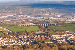 The 18 arches Craigmore Viaduct