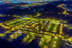 Bessbrook-village-aerial-at-night-2021