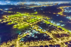 Bessbrook-village-at-night