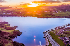 Camlough-Lake-at-sunset