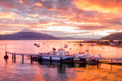 Carlingford-Ferry-at-Sunset