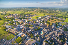Crossmaglen-village-south-armagh-aerial-picture-3