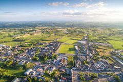 Crossmaglen-village-south-armagh-aerial-picture-8