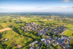 Crossmaglen-village-south-armagh-aerial-picture-9