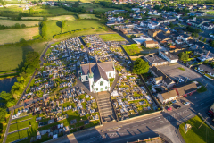 Crossmaglen-village-south-armagh-aerial-picture