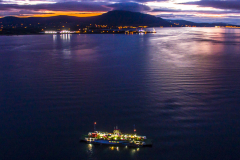 Carlingford-ferry-at-night-in-the-Lough